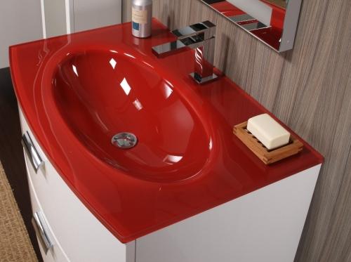 Mobile bagno comfort in colori per arredo moderno lavabo