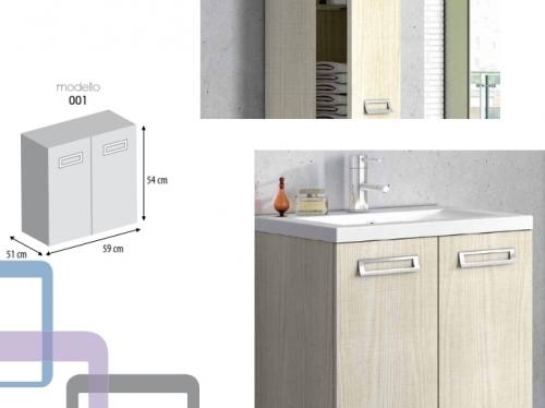 Accessori Bagno Bordeaux : Mobile da bagno in colori o legno per arredo moderno con lavabo