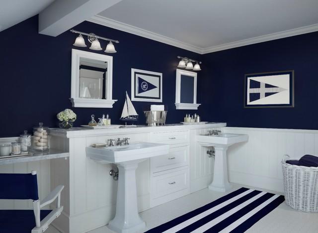 il bagno in stile marino come sentirsi al mare. Black Bedroom Furniture Sets. Home Design Ideas