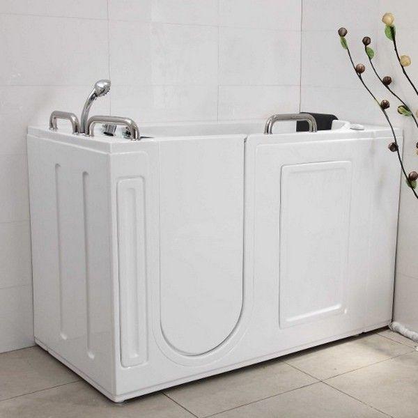 Vasca da bagno sportello laterale 134x68 o 132x76 vs077 vs078 - Pulire vasca da bagno ...