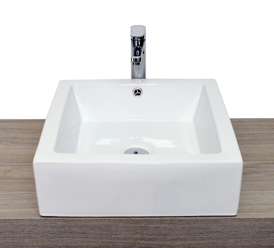 Lavabo da appoggio rotondo alto basso quadrato in ceramica for Lavabo da appoggio