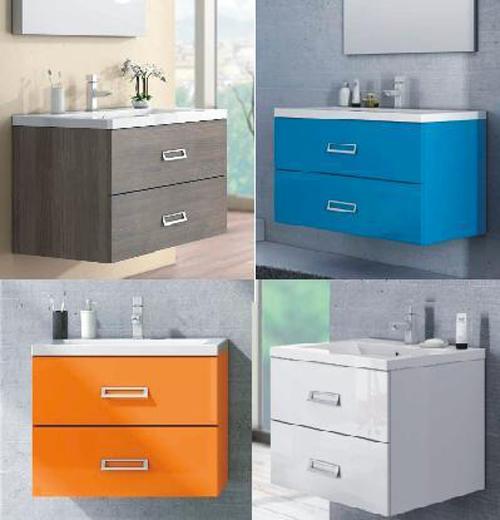 Mobile da bagno modello line disponibile in diversi colori for Mobile bagno moderno ebay