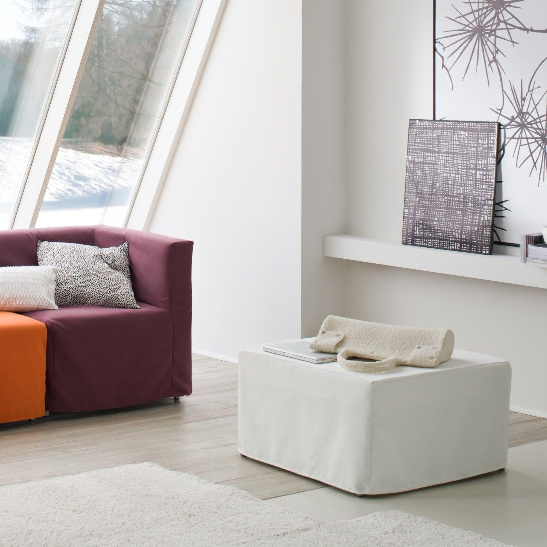 Pouf letto venezia ad una piazza con materasso 72x45x73 in - Pouf letto poltronesofa prezzo ...