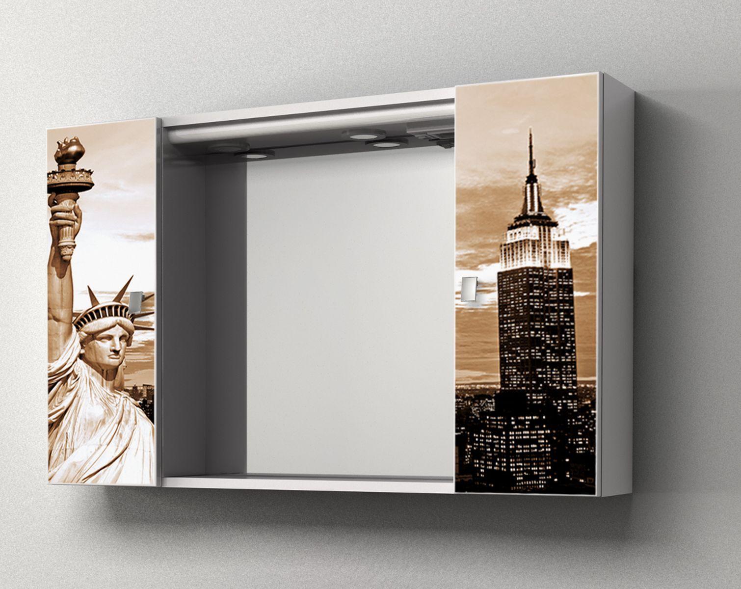 Specchiera contenitore da bagno yellow 94x60hx17 cm - Lo specchio retrovisore centrale ...