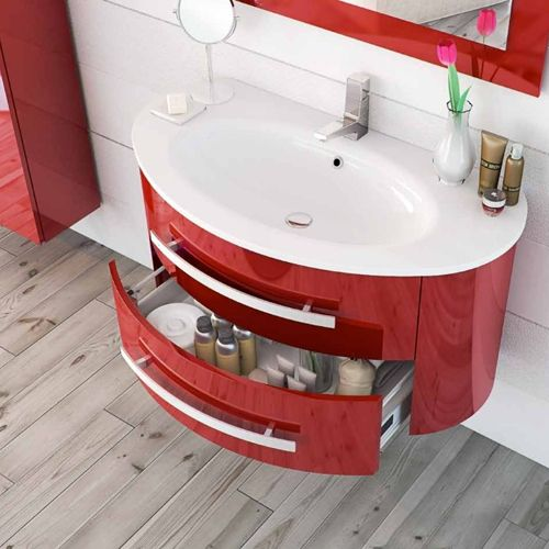 mobili bagno moderni da 71 a 100 cm - bagno italia - Bagni Moderni Sospesi
