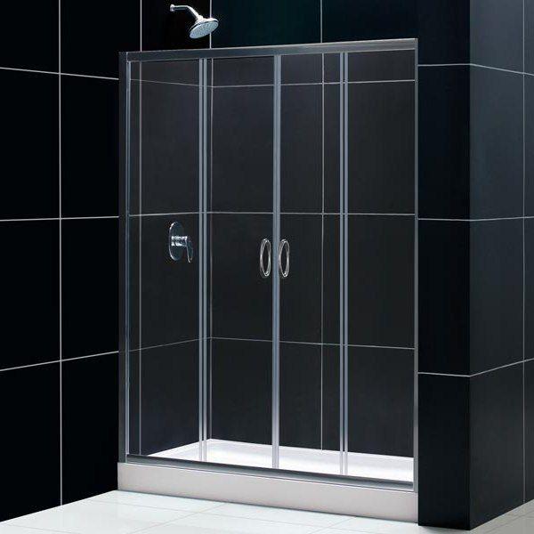 Vetro scorrevole per doccia