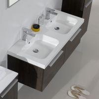mobili bagno con doppio lavabo