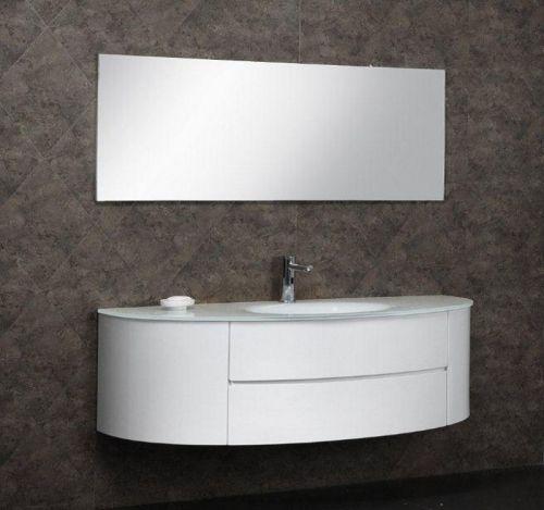 Mobile bagno moderno beta3 bianco o azzurro 2 misure il for Mobile bianco per bagno