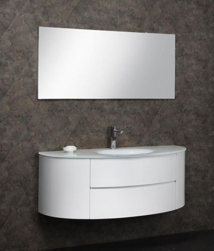 Mobile bagno moderno beta3 bianco o azzurro 2 misure il for Mobile sotto lavabo