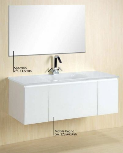 Mobile bagno amos, mobile arredo moderno, vari colori bz