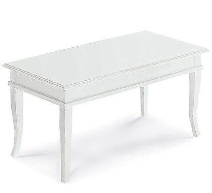 Mobile kelly tavolino bacheca piano legno colore bianco for Arredamenti cortese