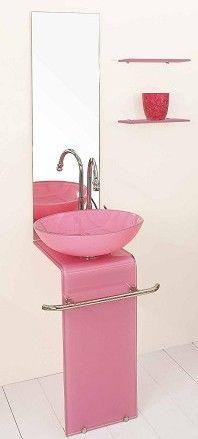 Z arredo bagno cristallo blu rosso rosa giallo nero bianco for Arredo bagno rosso