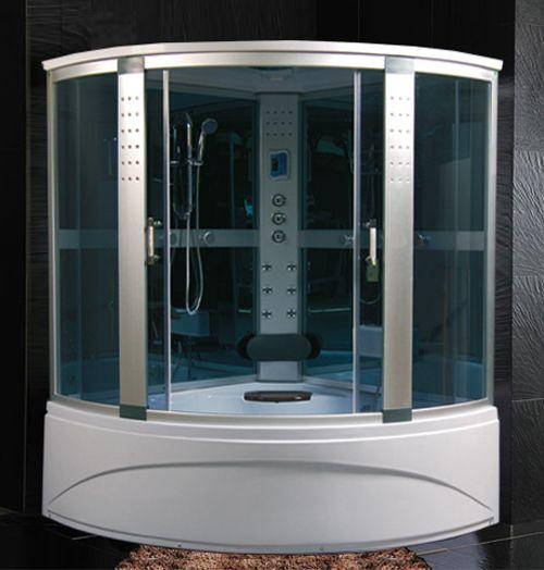 Cabina e vasca idromassaggio in pi misure con sauna e - Vasche con cabina doccia ...