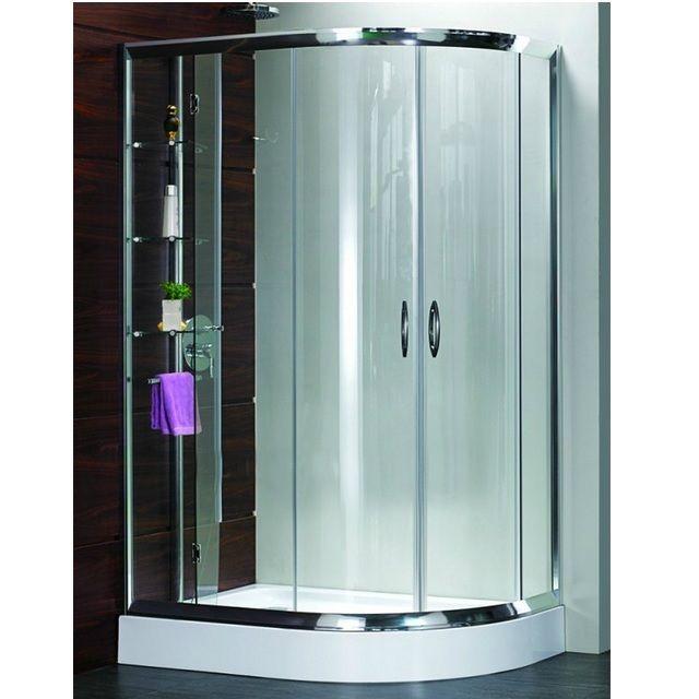 Box Doccia 3 lati vetro Opaco o Trasparente in più misure hd
