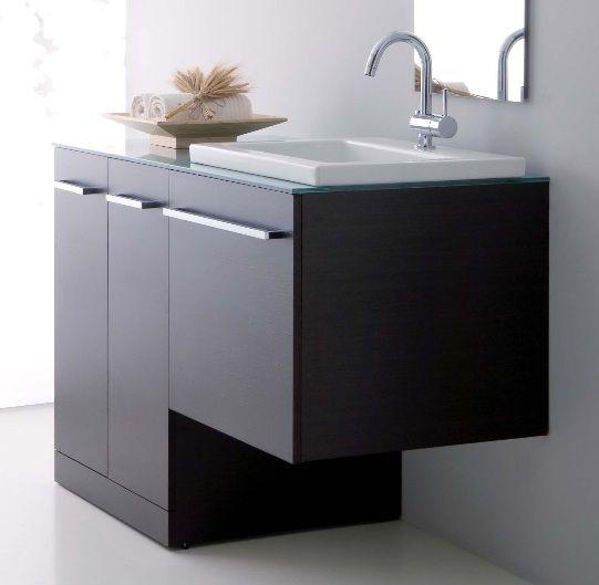 1 mobile bagno vip 10 colori con coprilavatrice porta lavatrice