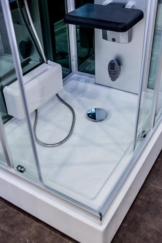 Cabina idromassaggio full optional 70x90 con generatore di - Colonna doccia bagno turco ...