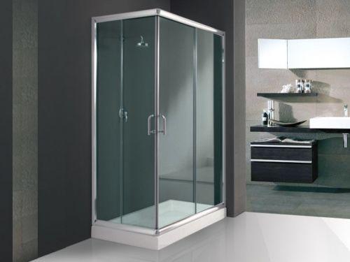 Box doccia angolare trasparente opaco in promo for Box doccia ikea prezzi