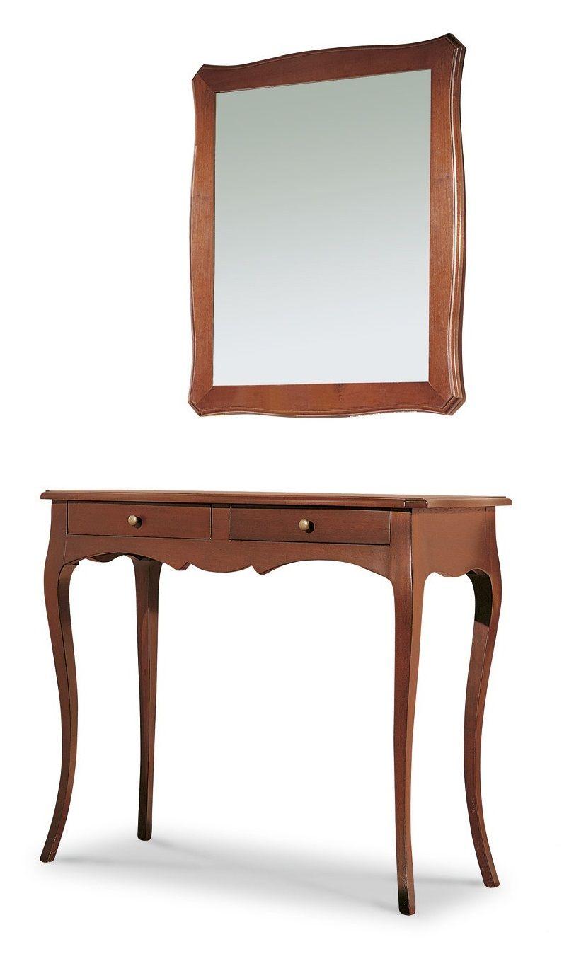Mobile marilyn consolle con specchio per ingresso colore for Consolle arredamento