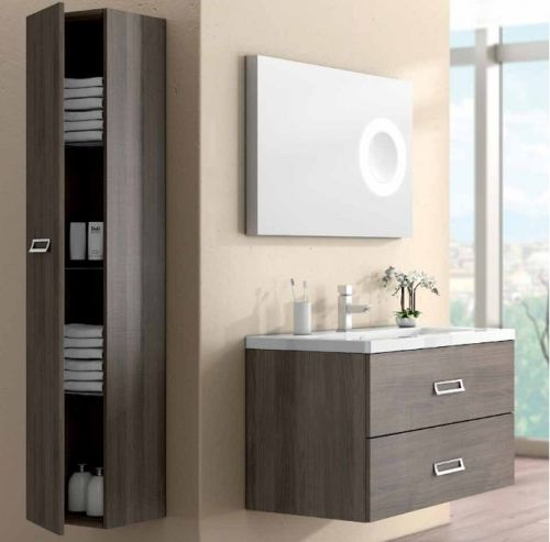 Mobile da arredo bagno line con 2 cassetti bb for Mobile bagno wenge offerte