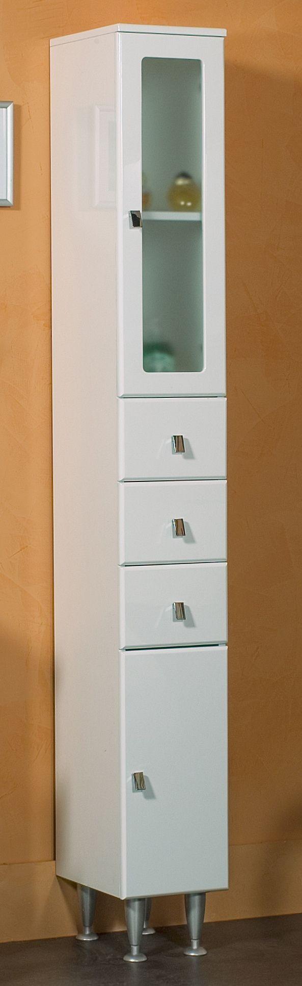 Mobili bagno per lavabo con colonna design casa creativa - Mobile colonna per bagno ...