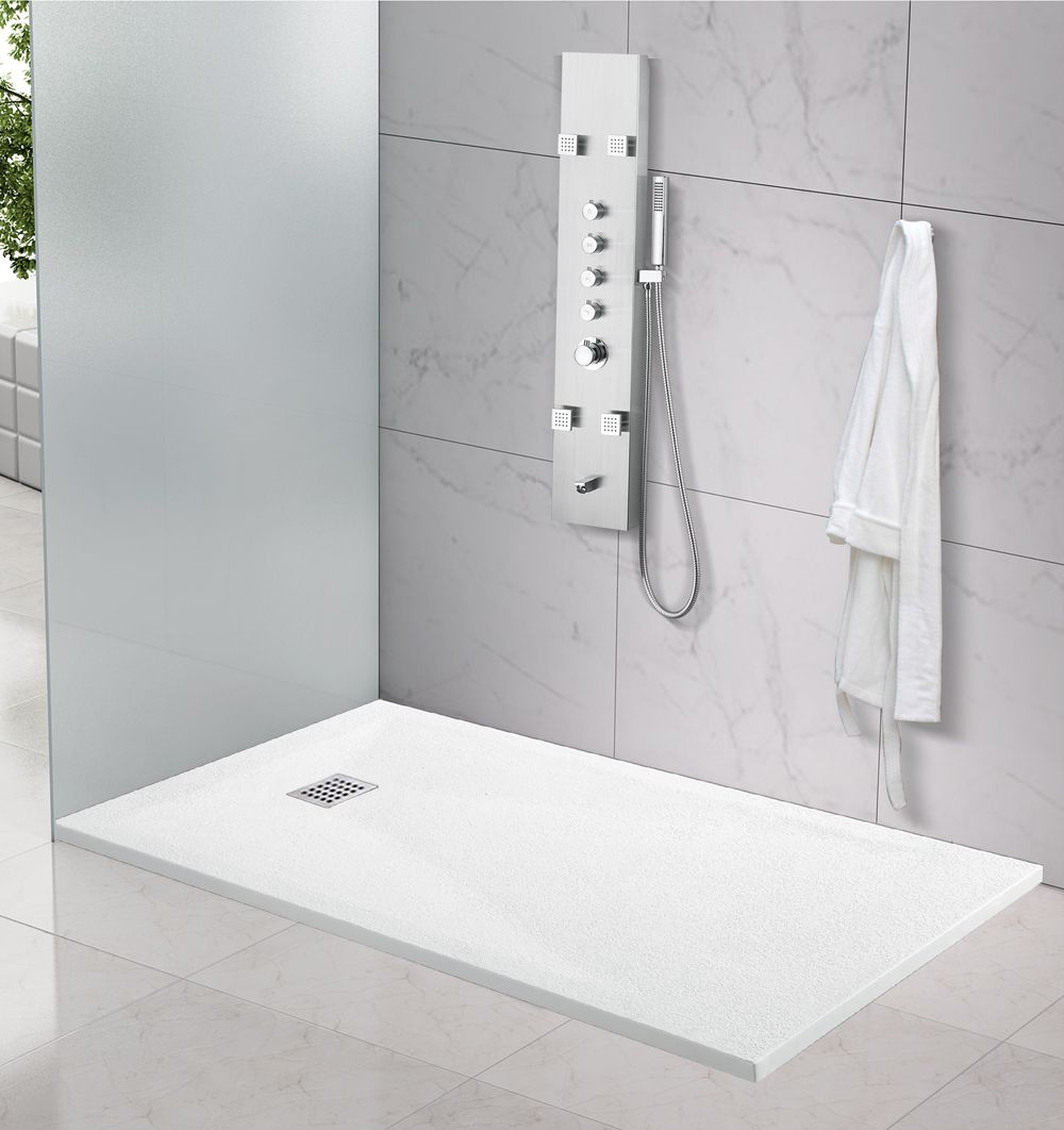 Piatto doccia effetto bugnato quadrato o rettangolare for Piatto doccia rettangolare
