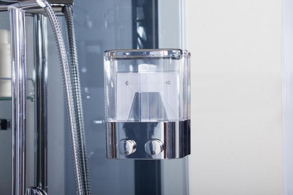 Cabina Multifunzione 80x80 : Cabina box idromassaggio con cromoterapia radio in misure anche