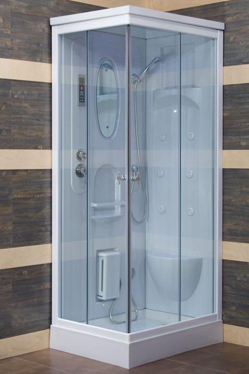 cabina idromassaggio 70x90 80x100 sauna - Box Doccia Cristallo Cesana Prezzi