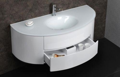 Mobile bagno moderno beta3 bianco o azzurro 2 misure il for Mobile bagno misure