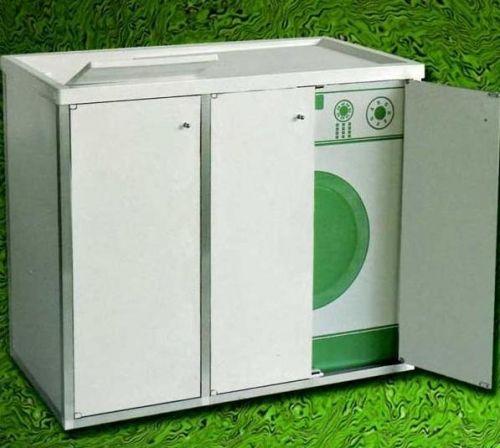 Base coprilavatrice con lavatoio in resina per esterno o - Resina per mobili ...