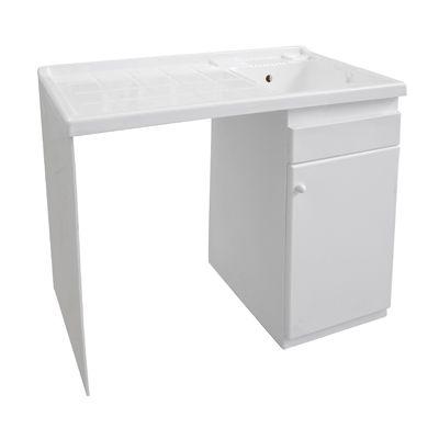 Lavapanni lavatoio in ABS con portalavatrice per esterno new