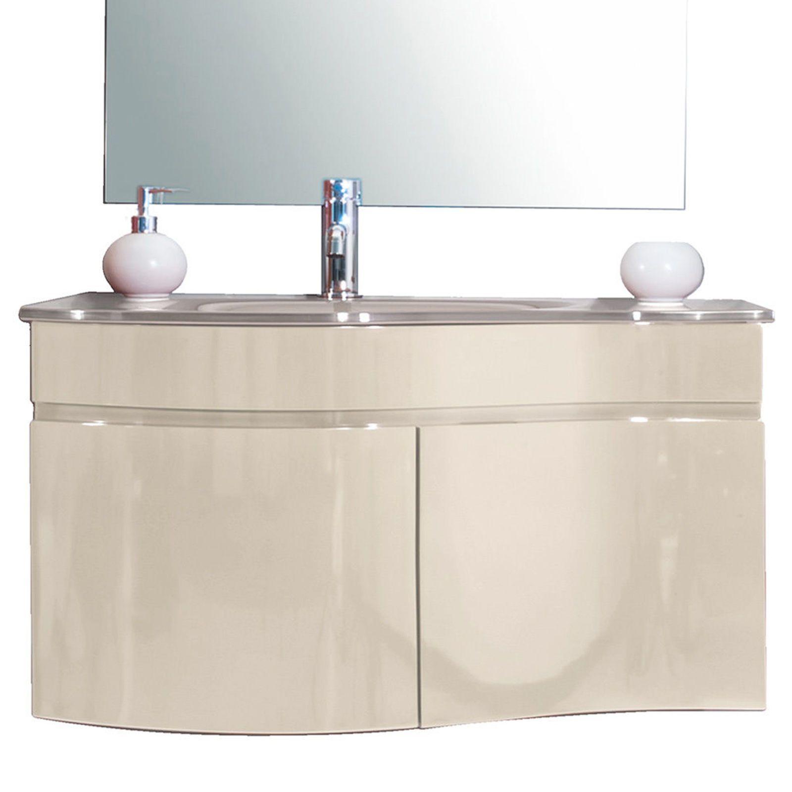 arredo bagno asia, completo di lavabo in cristallo bz - Prezzi Arredo Bagno Completo