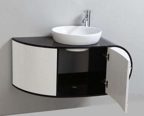 Arredobagno topazio3 da 100 con lavabo d 39 appoggio in offerta pd - Lavabo bagno appoggio ...
