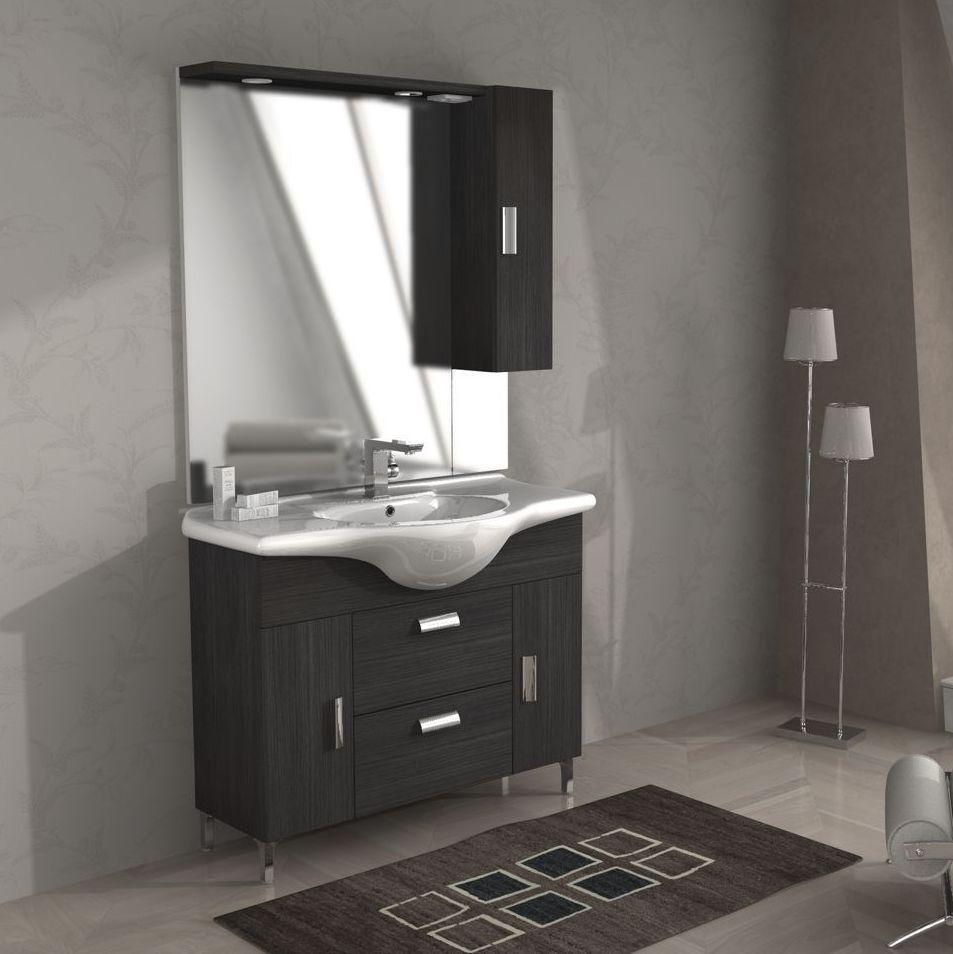 Bagno nero e grigio great esempio di una stanza da bagno design con doccia ad angolo piastrelle - Bagno nero e grigio ...