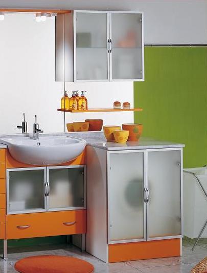 Mobile bagno ambra coprilavatrice 70 68 lavabo semincasso - Mobile bagno con lavatrice ...