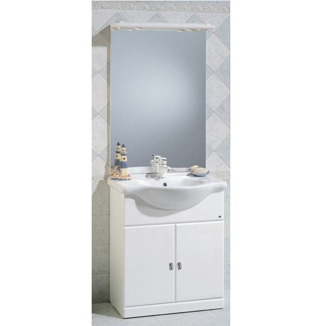 Mobile Bagno Cleo cm 75 bianco bh