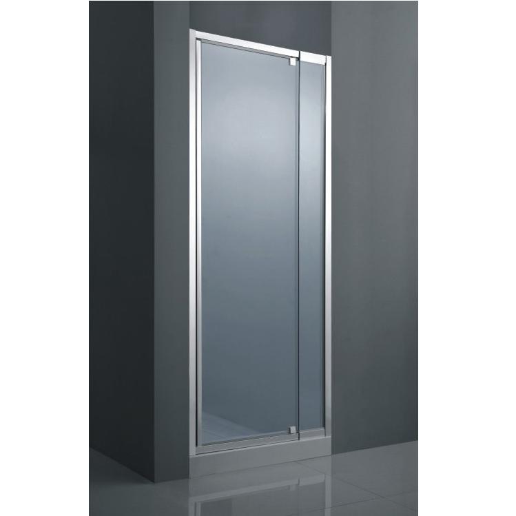 Porta per doccia a nicchia anta battente vetro opaco pa - Vetro doccia scorrevole ...