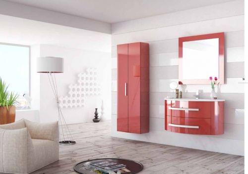 Arredo bagno moderno marion con lavabo e specchiera bb - Colori bagno moderno ...