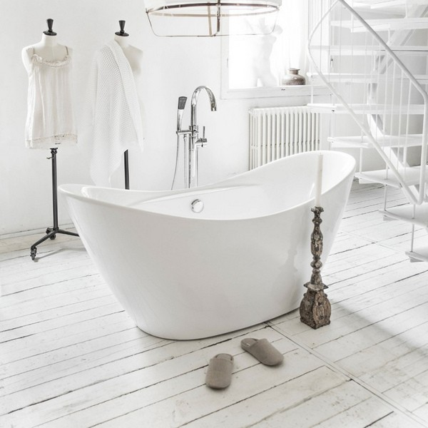 Vasca da bagno freestanding per centro stanza vs059 - Misure vasca da bagno ...