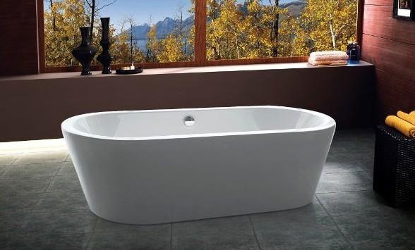 Vasca da bagno vs071 vs072 moderna per centro stanza for Vasca centro stanza