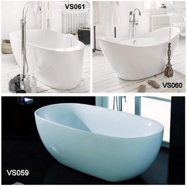 Vasca da bagno freestanding per centro stanza VS059 - VS060 - VS061