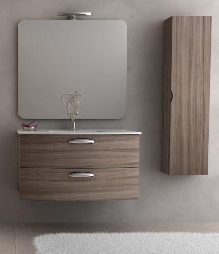 Arredo bagno moderno converse in vari colori bh for Mobile bagno wenge offerte