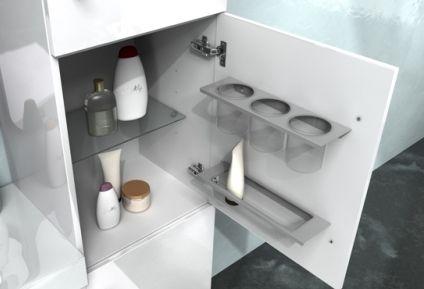 Mobile bagno moderno sting, arredo bagno moderno bh