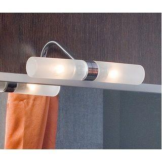 Mobile bagno giulia cm 100 bianco lucido e grigio talpa ultra slim - Applique per specchio bagno classico ...