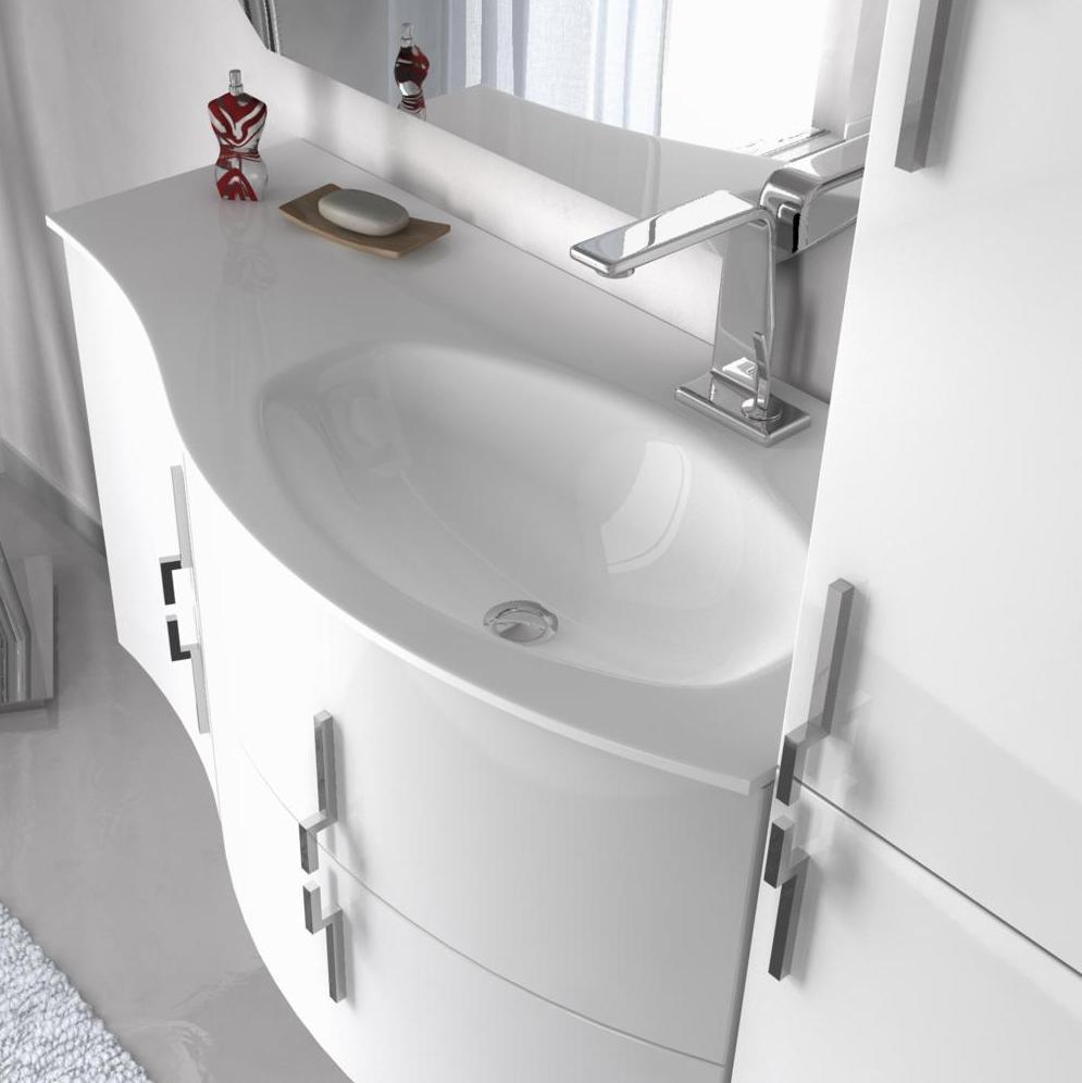 Mobile bagno moderno sting arredo bagno moderno bh for Prezzi lavabo bagno
