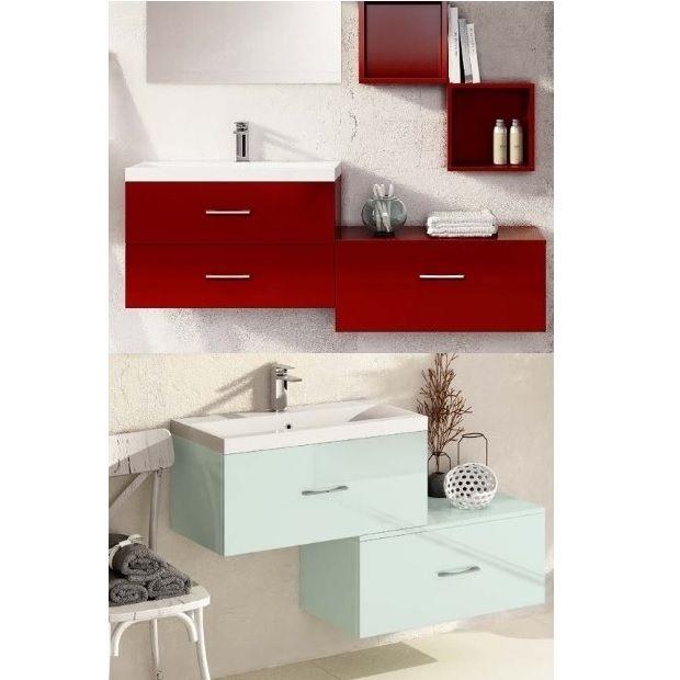 mobili bagno moderni da 71 a 100 cm - bagno italia - Mobile Arredo Bagno Sospeso