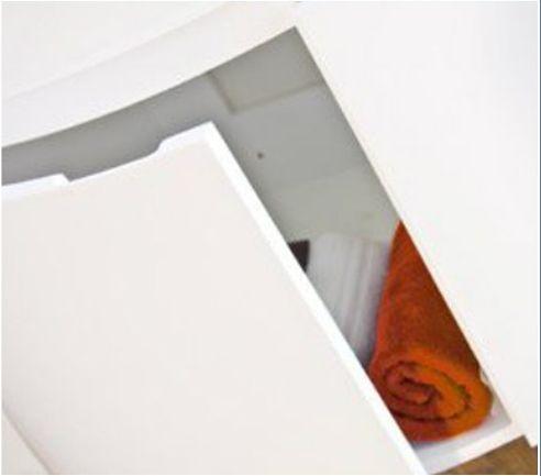 arredo bagno asia, completo di lavabo in cristallo bz - Arredo Bagno Arancione