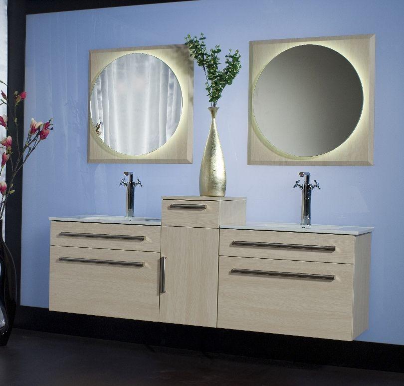 mobili bagno con doppio lavabo - tante misure diverse - Arredo Bagno Moderno Doppio Lavabo