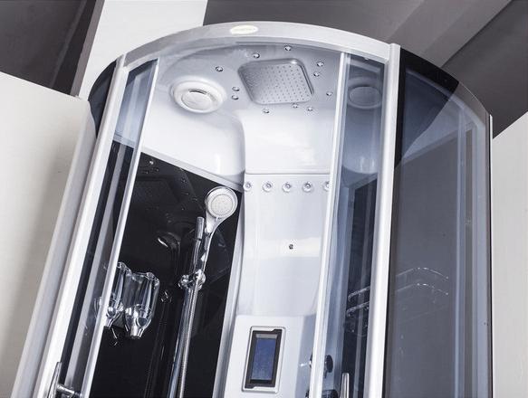 Cabina Multifunzione 80x80 : Cabina idromassaggio multifunzione o cm im