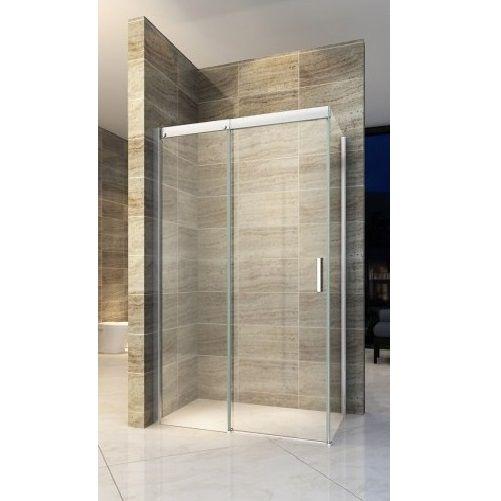 Box doccia anta fissa porta scorrevole h195 chiusura - Doccia senza porta ...
