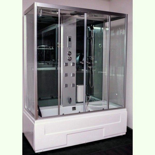 Cabina idromassaggio 170x80 con vasca nuovo display - Bagno turco prezzi ...